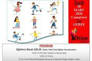 Otizmli Bireyler İçin Spor Eğitimcisi Yetiştirme Programı-Gebze