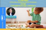 Otizm Riskli Bebekler Eğitim Programı (ORBEP)0-3 YAŞ-Zoom-Online Eğitim-Eylül