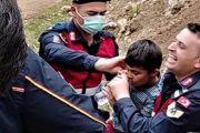 Otizmli Kerim Can Güney 46 saat sonra bulundu